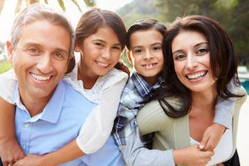 family smiling | dentist broomfield co