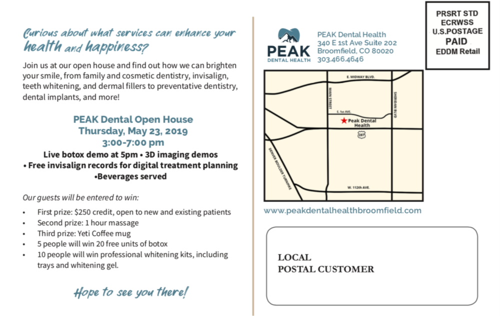 Map to Peak Dental Health | Dentist Broomfield CO
