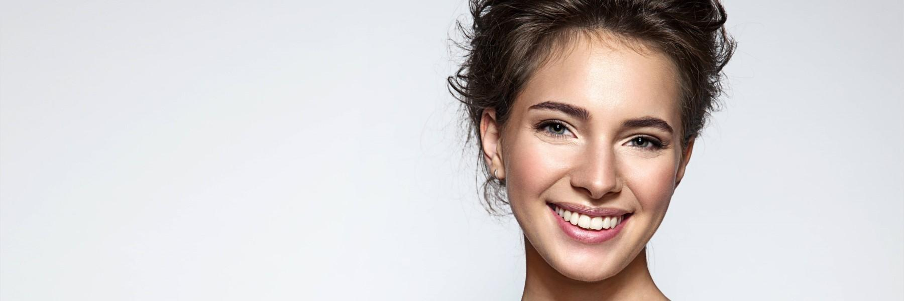 woman smiling | broomfield co dentist